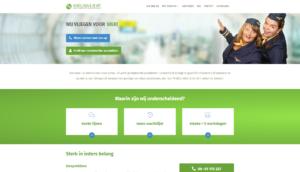Website ontwikkeling voor Middelhuis & de Wit